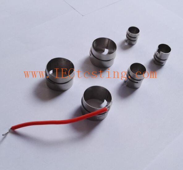 Nickel sleeve IEC60360 Temperature Rising Nickel Lampholders