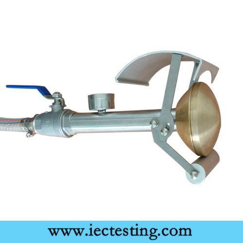 EN 60529 IPX3 IPX4 Handheld Water Spray Nozzle Protection Against Water Ingress