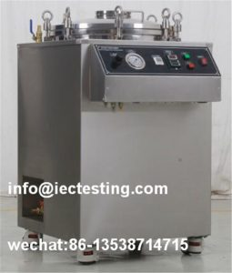IPX7 IPX8 Ingress Protection Test Equipment / EImmersion and Water Tightness Pressure Tester