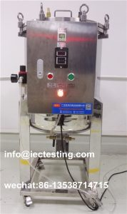 IEC60884-1 IPX8 Water Tightness Pressure Tester