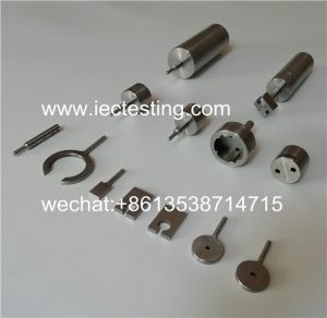 DIN-VDE0620-1 Plug Socket Tester / German Standard Plug And Socket Measuring Gauge