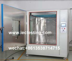 IPX1 IPX2 IPX3 IPX4 waterproof test chamber