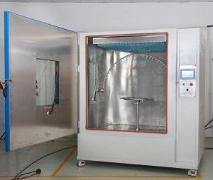 IPX1 IPX2 IPX3 IPX4 waterproof test chamber
