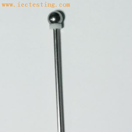 IEC 60529 IEC61032 IP20C 12.5mm ball probe with handle