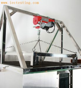 Electric hoist IPX7 Temporary Immersion Tank