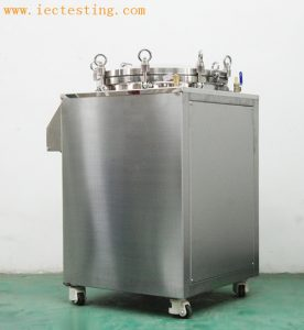 IPX8 Continuous Immersion Test device