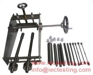 IEC60540 IEC60811 Wire Core Circular Cable Testing Equipment Cold Bending Test Machine