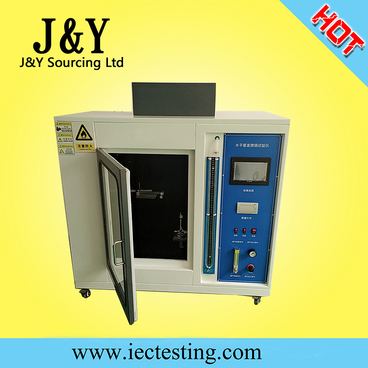 IEC60695 Horizontal and Vertical flame test chamber