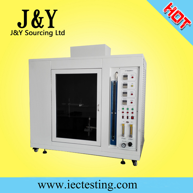 UL94 Horizontal and vertical burning test chamber