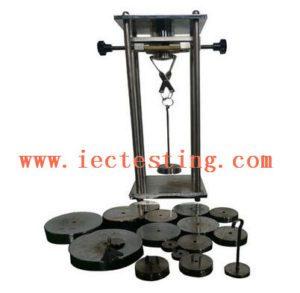 Hardened Steel IEC Test Equipment IEC 60884-1 Plug Pin Force Verification Tester