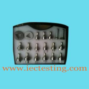 Measuring gauge for Plug and socket