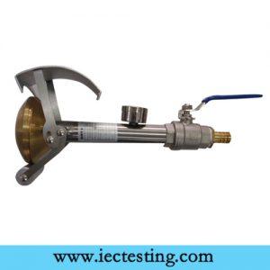 IEC60529 IPX3 IPX4 brass water spray nozzle for hand sprayer