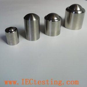 Stainless Steel Pendulum Hammer Striking Element IEC60068-2-75