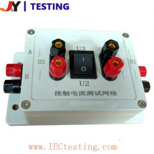 IEC60990 Figure4 & Figure5 Measuring network, touch current weighted for letgo-immobilization & erception or startle-reaction