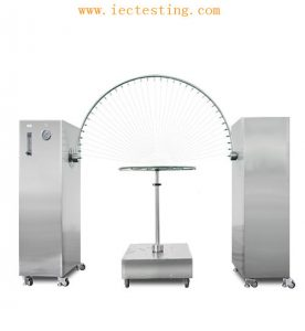 IPX3-IPX4 Oscillating Tube spraying and splashing water Test device