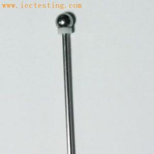 IEC60529 IEC61032 IP20C 12.5mm ball probe with handle