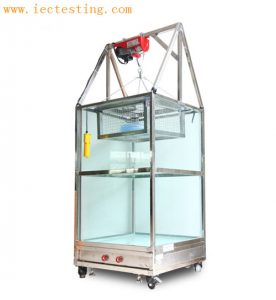 IPX7 Temporary Immersion Tank(Tempered Glass)-Electric hoist